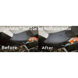 SofaRider™ Stock 2 Gel Seat Modification Service