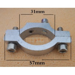 Universal Metal Clamp, non locking, unpainted