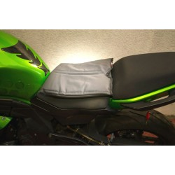 SofaRider™ XLT Quick Remove Strap On Gel Seat for Motorcycle